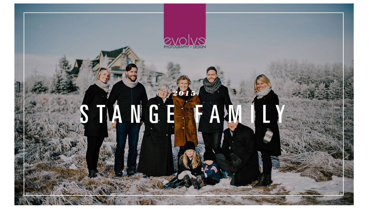 Family Portraits in Winter