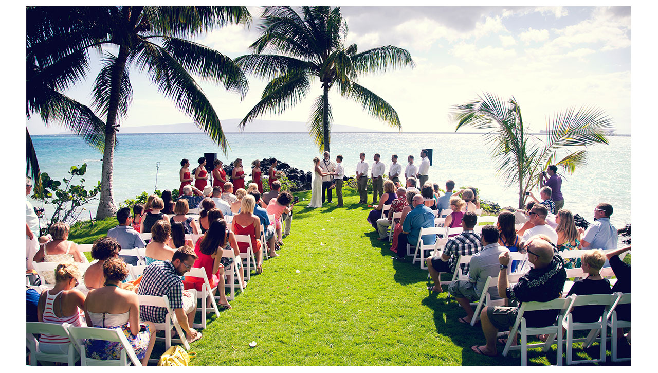 Ceremony in Maui