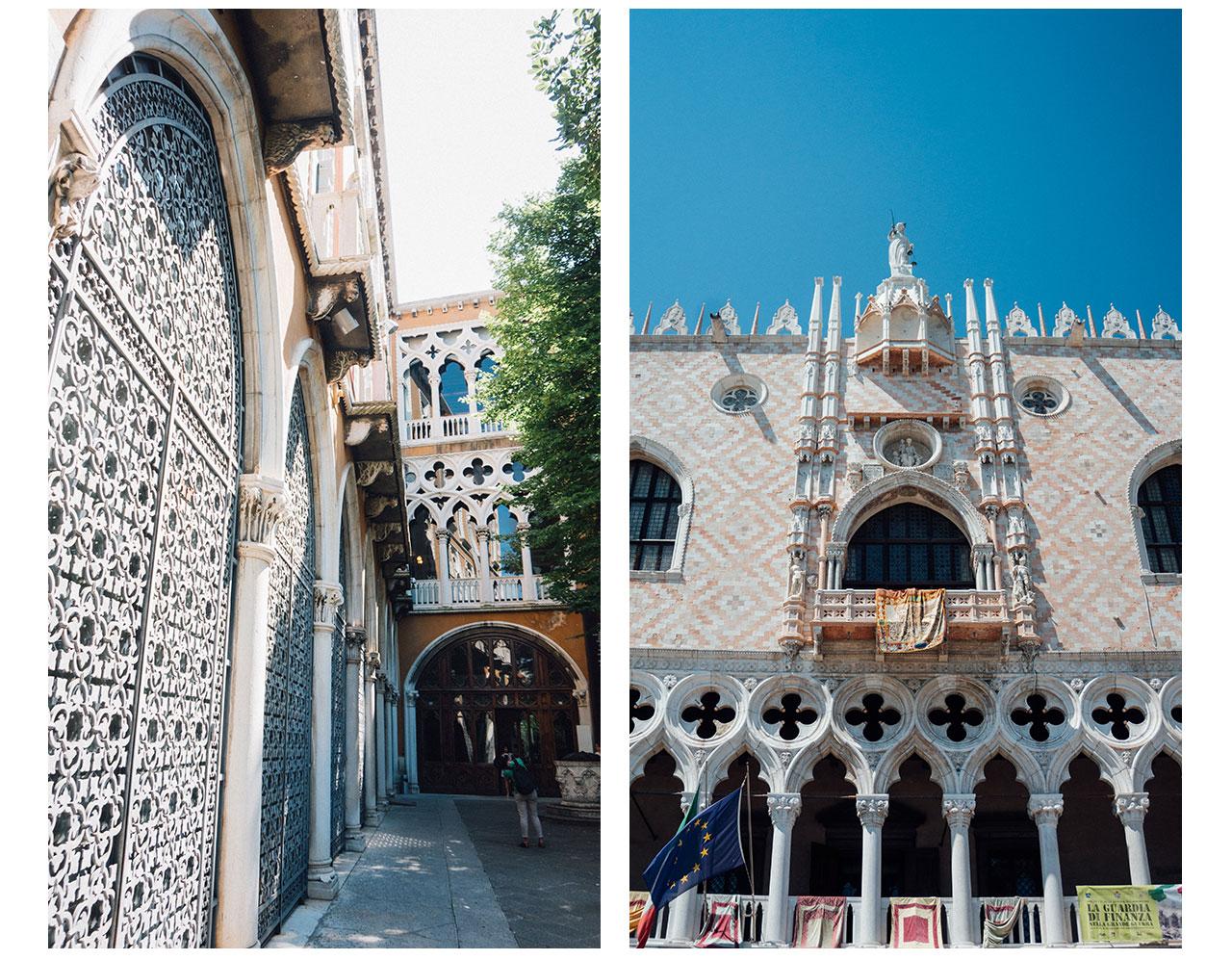 Venetian gothic style