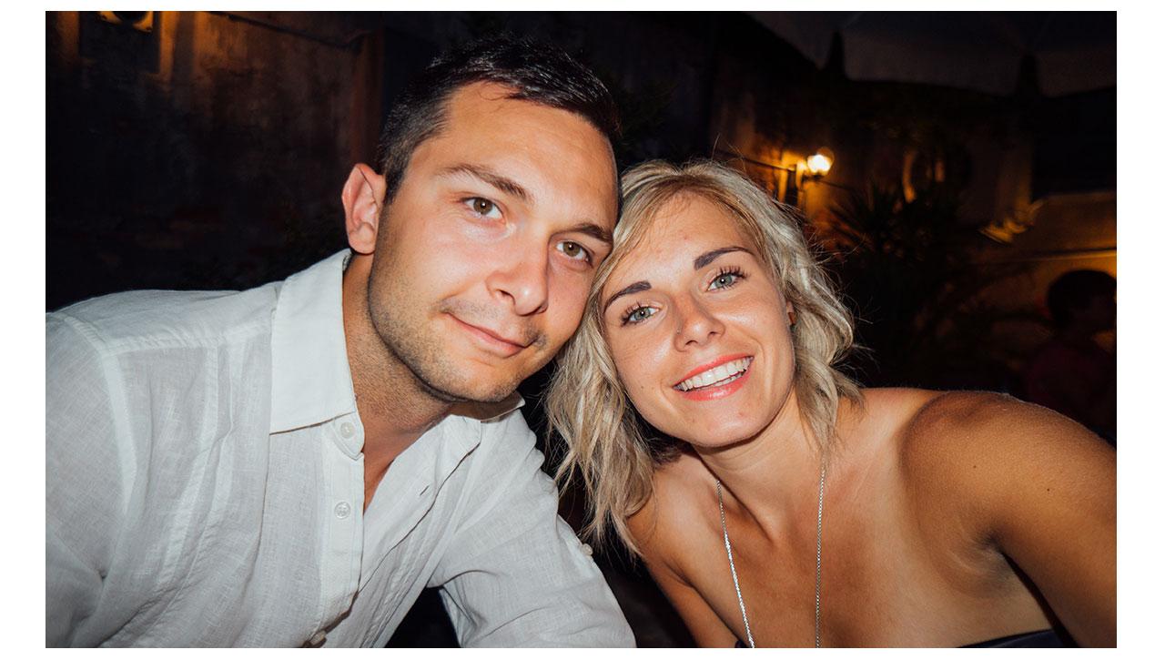 Venice dinner selfie