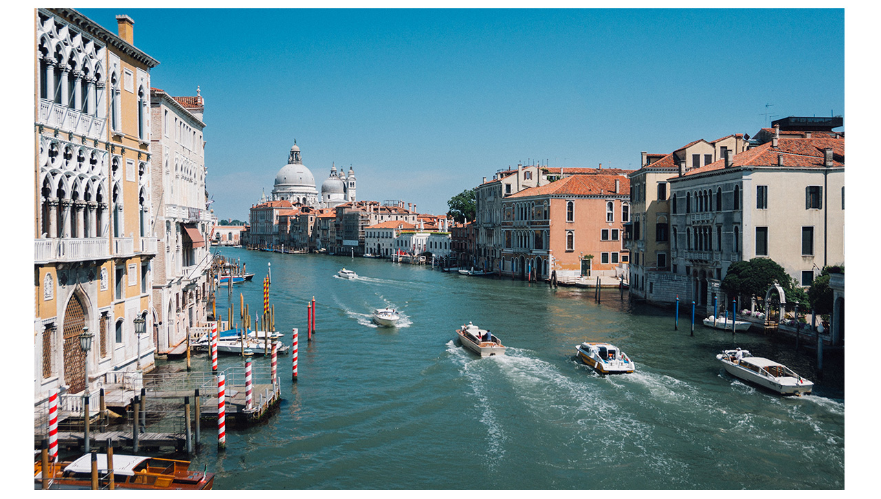The Grand Canale Venice