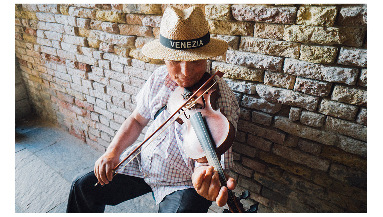 Venetian violinist