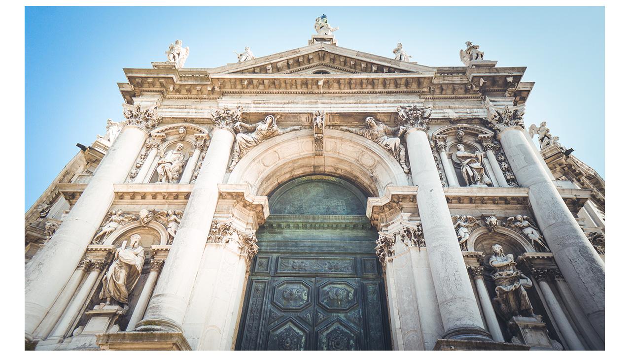 Campanile San Marco doorway